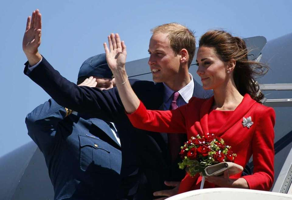 Prince William and Kate, the Duke and Duchess