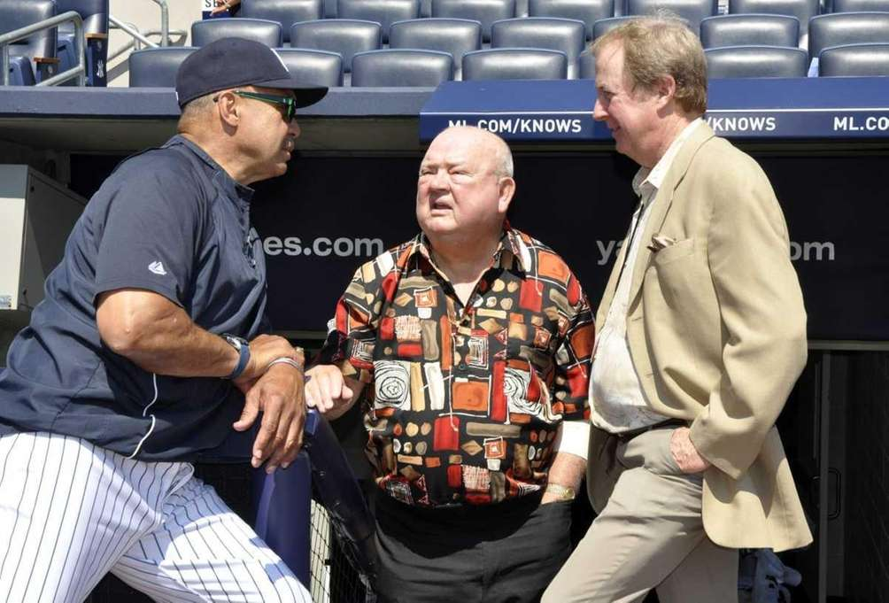Reggie Jackson, Don Zimmer and baseball writer Bill