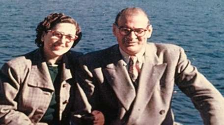 Stephen Ettinger's grandmother and grandfather, Margaret and Albert