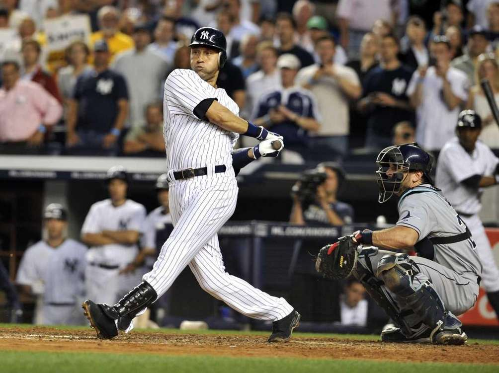 20 seasons, 1995-2014 Derek Jeter added another chapter