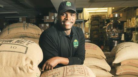 Oscar Amada, chief coffee roaster at The Hampton