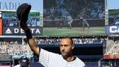 Derek Jeter, No. 2, of the New York