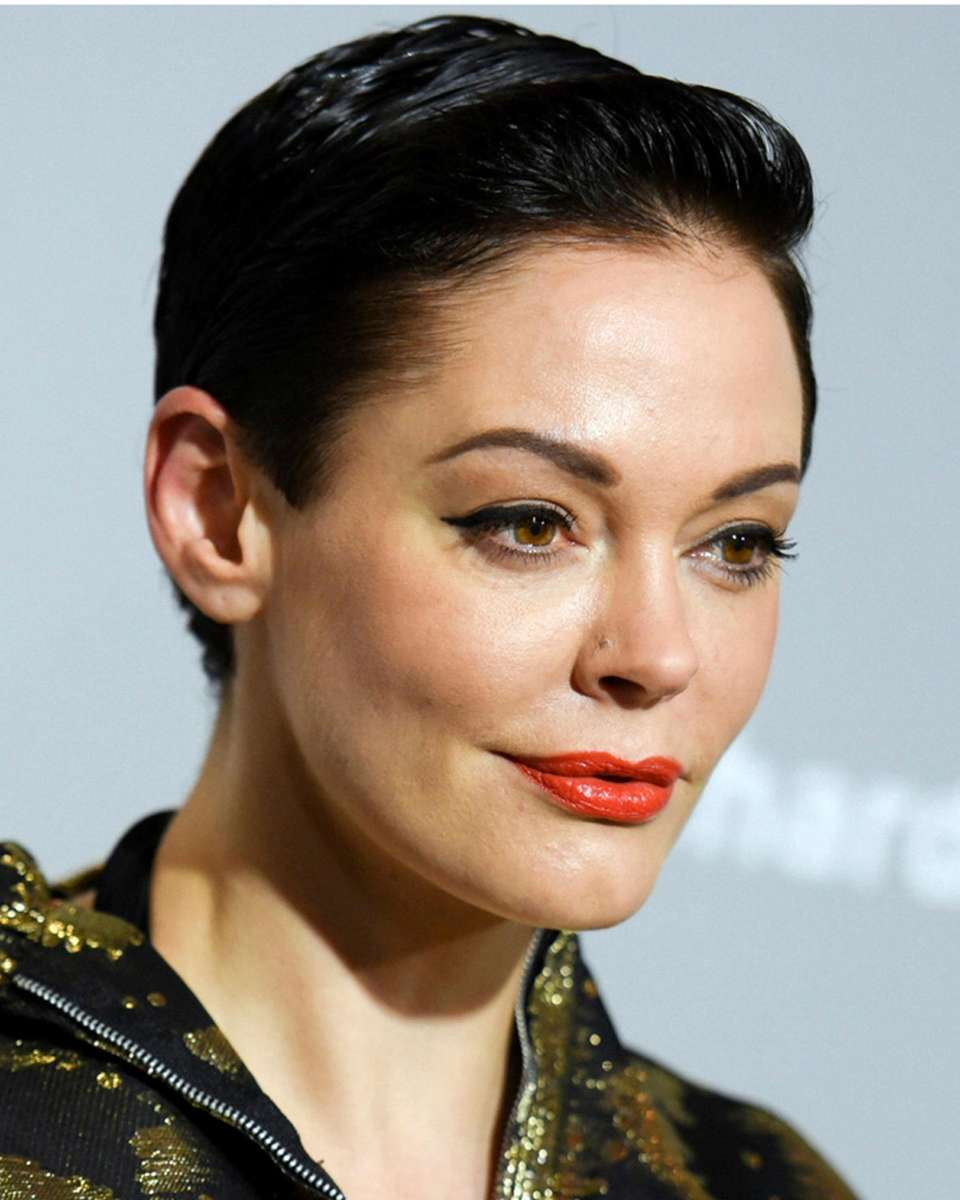 Rose McGowan who is among the many women