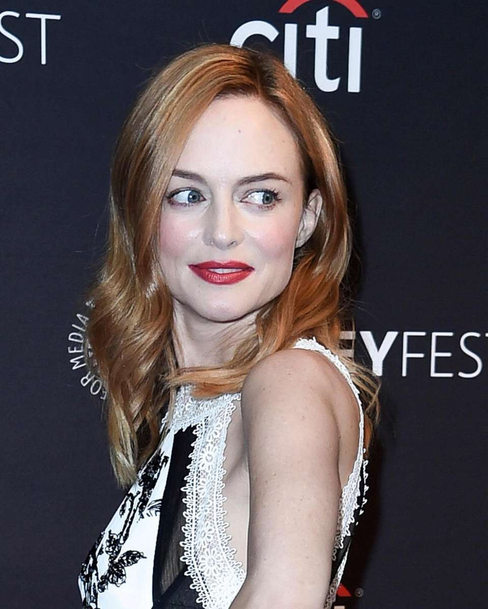 Heather Graham attends the 2017 PaleyFest Fall TV