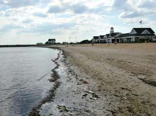 Tanner Park Beach in Copiague. (June 29, 2011)