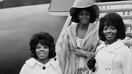 From left, Rosalind Ashford, Martha Reeves and Betty