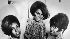 Mary Wilson, Diana Ross and Cindy Birdsong of