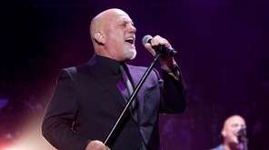 Billy Joel, pictured performing at Madison Square Garden,