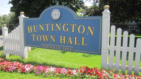 Huntington Town Hall in an undated photo.