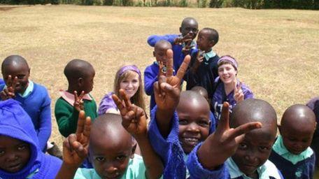 Meghan Spillane, of Shoreham, went to Kenya three
