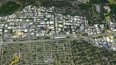 The Hauppauge Industrial Park spans 1,650 acres in