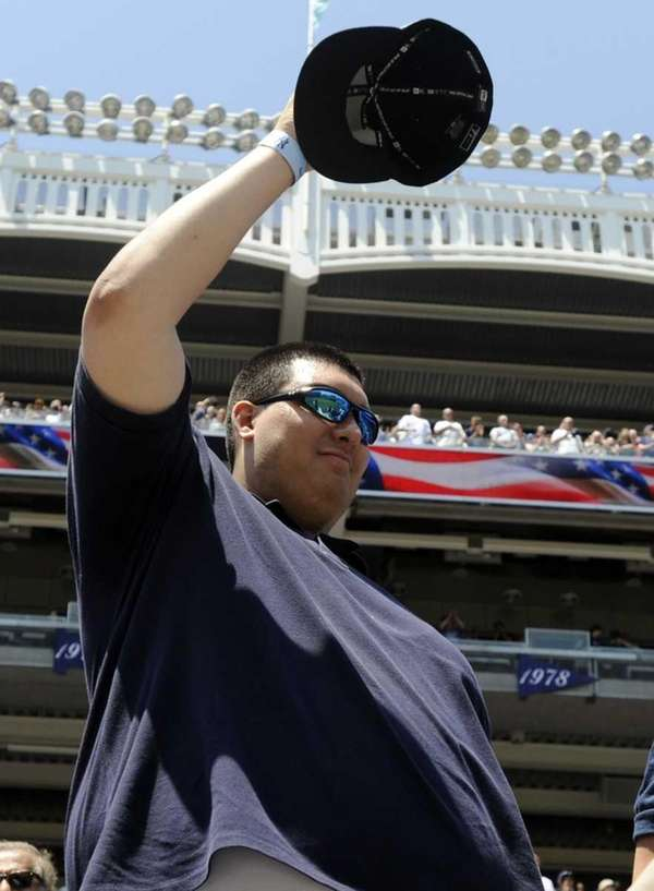 Christian Lopez, the fan who caught Derek Jeter's