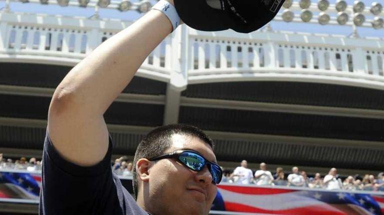 Christian Lopez, the fan who caught Derek Jeter's