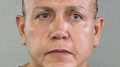 Cesar Sayoc in a 2015 photo released by