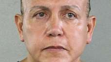 A 2015 booking photo of Cesar Sayoc