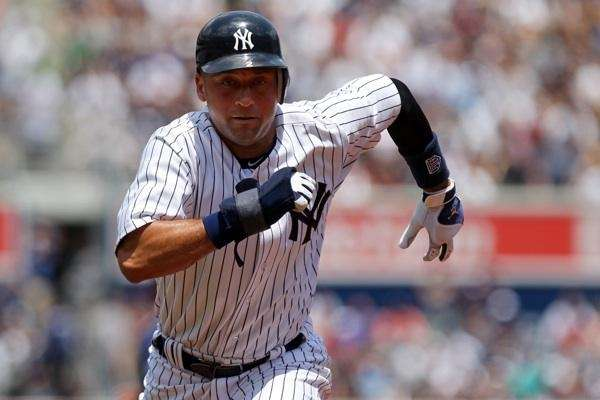 Derek Jeter in an undated file photo.