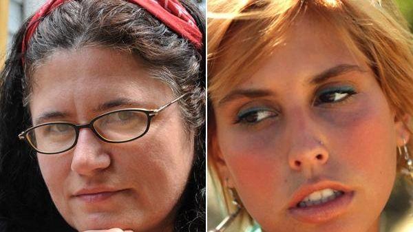 Carolyn Alfieri (left) and Jenna Montalbano (right) have