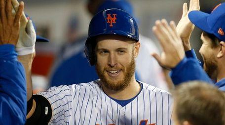 Zack Wheeler #45 of the New York Mets