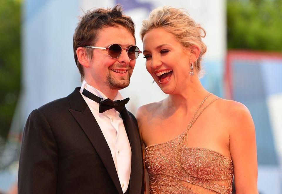 Parents: Kate Hudson and Matt Bellamy Child: Bingham