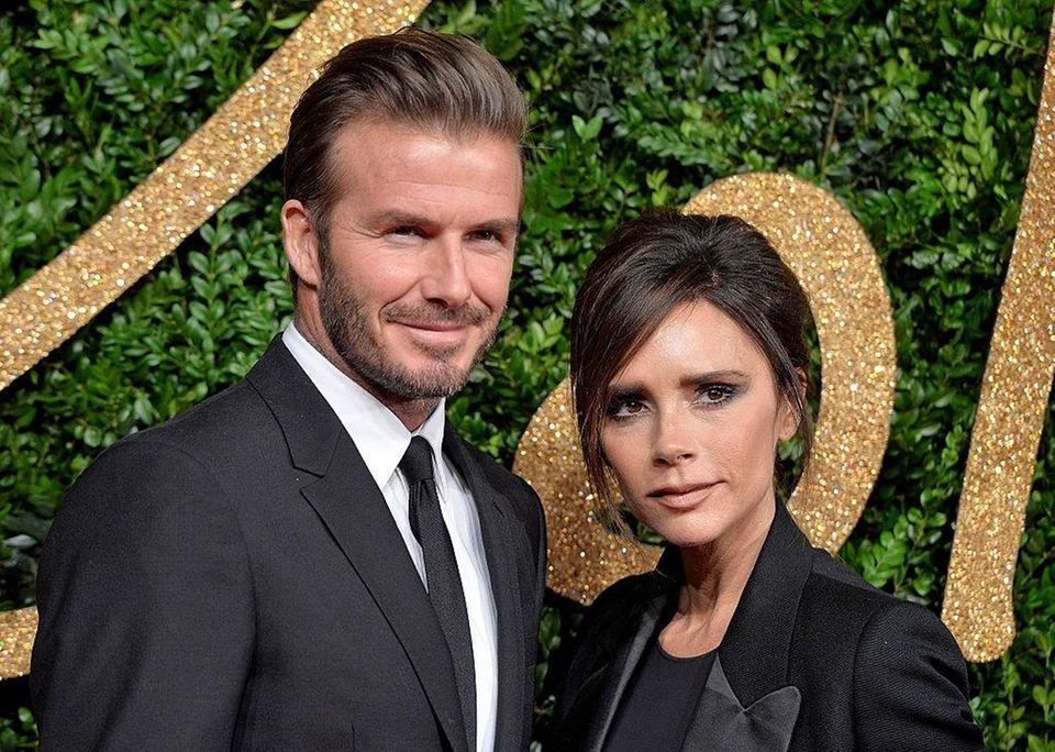 Parents: David and Victoria Beckham Children: Brooklyn, born