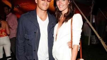Sean Avery and Hilary Rhoda at the 12th