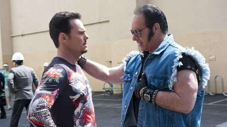 Kevin Dillon and Andrew Dice Clay in a