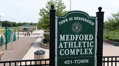The Medford Athletic Complex on Horseblock Road in