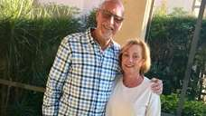 Ron and Francine Altman of Massapequa celebrated their