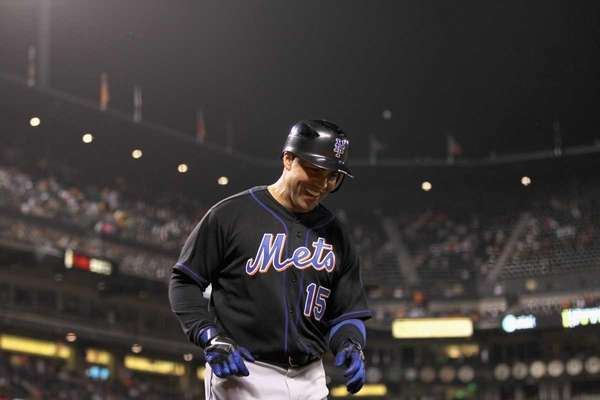 Carlos Beltran #15 of the New York Mets