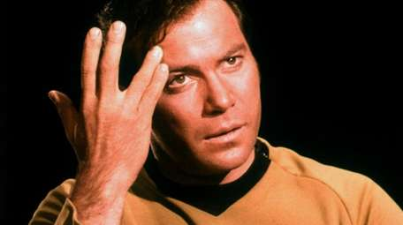 William Shatner starred as Captain Kirk in the