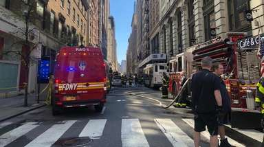 Manhole explosions in midtown Manhattan on Wednesday injured