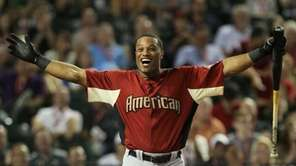 American League All-Star Robinson Cano of the New
