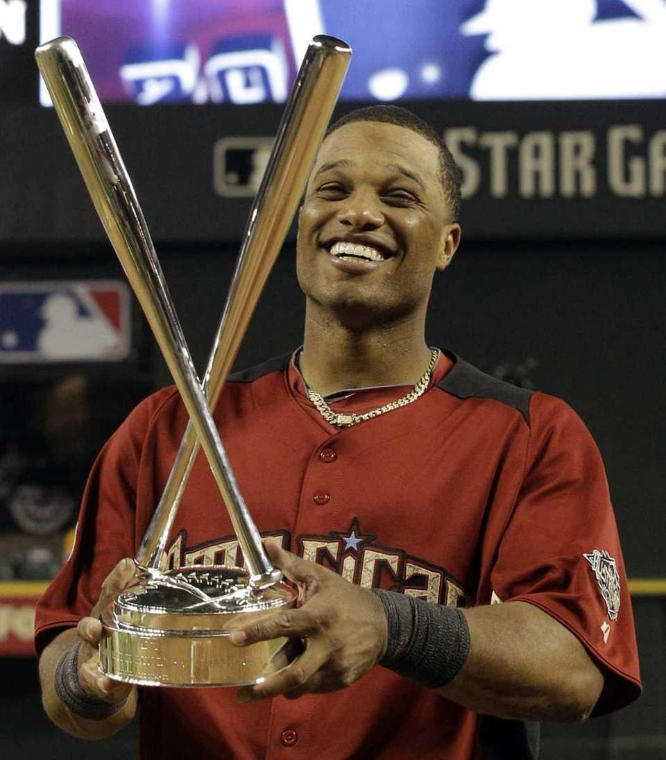 American League's Robinson Cano of the New York