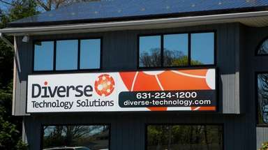 Diverse Technology Solutions' offices on Sunrise Highway in