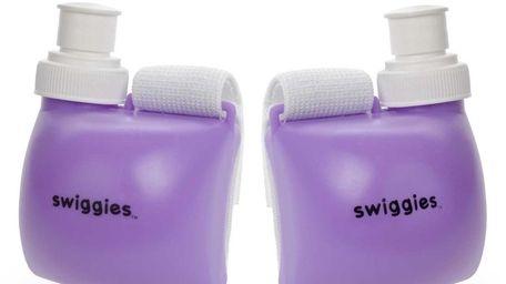Swiggies is a wrist water bottle by HydroSport
