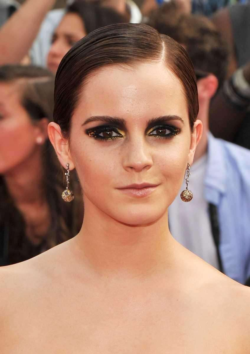 Actress Emma Watson attends the premiere of her