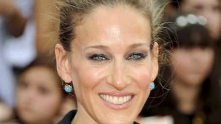 Sarah Jessica Parker, seen here at the premiere