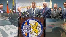 Nassau County Police Benevolent Association President James McDermott