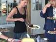 A community potluck hosted by the Wellness Foundation