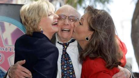Television writer and producer Sherwood Schwartz gets a