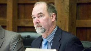 East Hampton Town councilman Peter Van Scoyoc