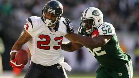 ARIAN FOSTER Running back, Houston Texans 2010 stats: