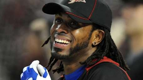 National League All-Star Jose Reyes #7 of the