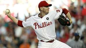 National League All-Star Roy Halladay #34 of the