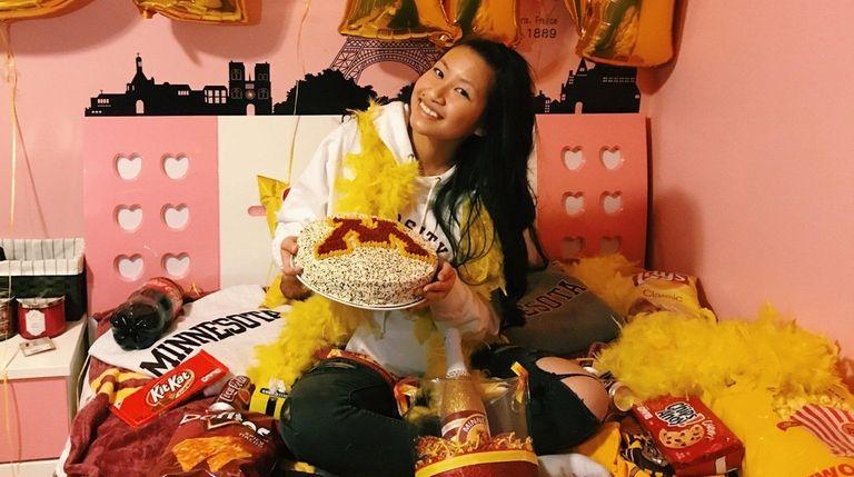 Jen Chen, 17, of Roslyn, will attend the