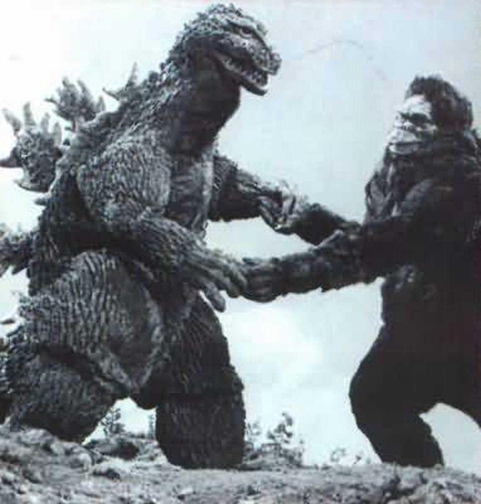 Godzilla (1953), Godzilla Raids Again (1955), King Kong