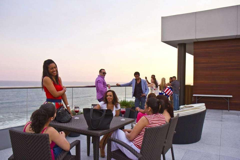 8. Rooftop lounges Jack's, pictured, is an outdoor