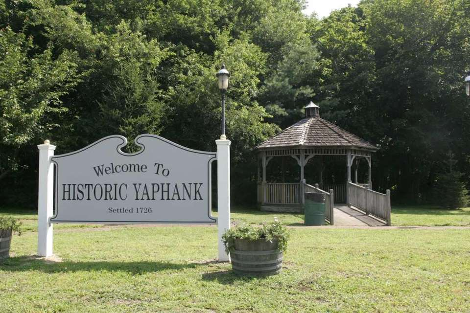 The quiet hamlet of Yaphank on July 12,