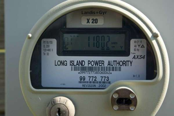 A LIPA meter in Greenport. A report by