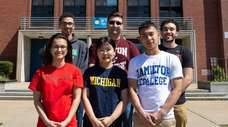 College-bound seniors from Division Avenue High School in